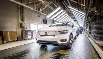 Volvo XC40 Recharge MY2021: arriva ad ottobre con un prezzo di 56.300 Euro