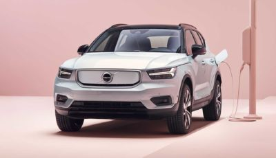 Volvo XC40 Recharge: il MY 2021 si aggiorna da remoto