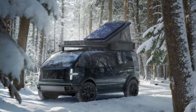 Canoo Inc, il pickup elettrico che si trasforma in camper