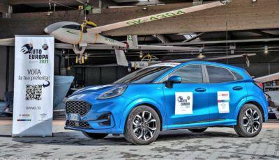 Ford Puma riceve il premio Giuria Opinion Leader Auto Europa 2021