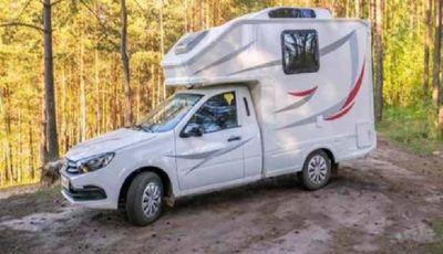 Lada Granta, il camper low cost made in Russia