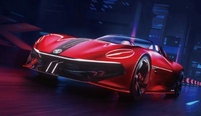 MG Cyberster, la roadster a zero emissioni per il Salone di Shanghai 2021