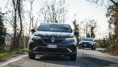Renault Arkana: prova su strada del SUV Coupé