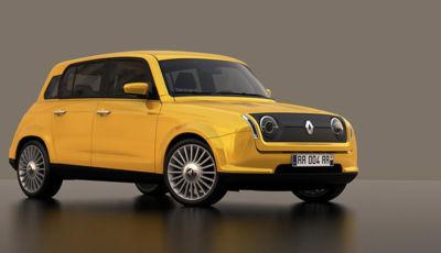 Renault 4; nel 2025 arriverà la versione elettrica