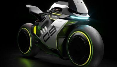 Segway Apex H2, la moto a idrogeno del futuro
