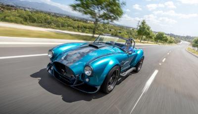 Una Shelby Cobra MKIII R con motore Godzilla