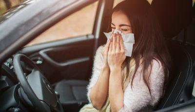 Allergie al volante: come difendersi dalle insidie della primavera