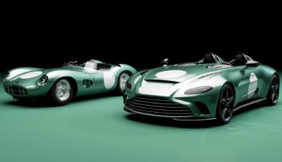 Aston Martin omaggia Le Mans 1959 con la Speedster V12 DBR1