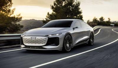 Audi A6 e-tron: a Shanghai la berlina tedesca si elettrifica