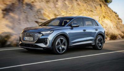 Audi Q4 e-tron: il nuovo SUV elettrico (anche Sportback) da 520 km di autonomia