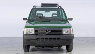 Fiat Panda 4×4 Integral-e: il mito diventa elettrico grazie a Garage Italia