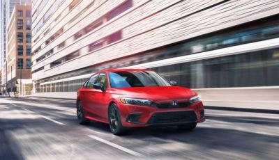 Honda Civic 2022: l'11esima generazione arriva per la fine dell'anno