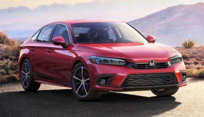 Honda Civic 2021: la nuova versione Sedan pronta al debutto