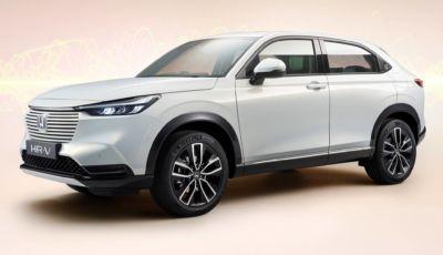 Honda HR-V 2021: il SUV giapponese diventa Coupé a tecnologia e:HEV