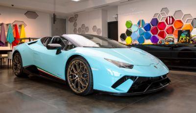Lamborghini Ad Personam: le supercar si personalizzano in laboratorio