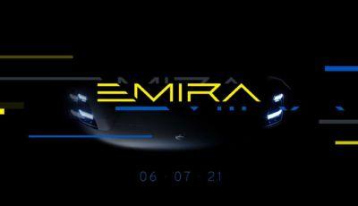 Lotus Emira: l'ultima supercar endotermica arriva il 6 luglio