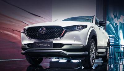 Mazda CX-30: a Shanghai la versione elettrica