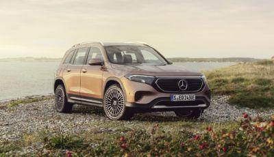 Mercedes EQB 2021: il SUV elettrico su base GLB da 419 km di autonomia
