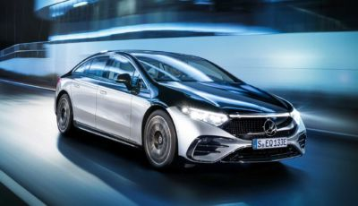 Mercedes EQS 2021: l'ammiraglia si elettrifica e arriva a 770 km di autonomia
