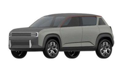 Renault 4Ever: i primi bozzetti della R4 elettrica del 2024
