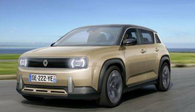 Renault R 4L Elettrica: il mito della R4 a batterie arriva nel 2025