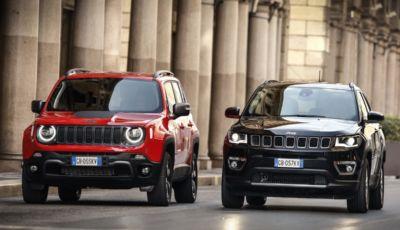 I SUV più venduti nel 1° trimestre 2021: doppietta di Jeep con Compass e Renegade