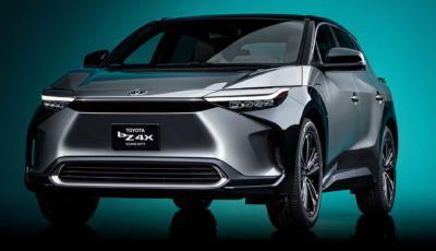 """Toyota bZ4X Concept: il primo SUV elettrico della famiglia """"Beyond Zero"""""""