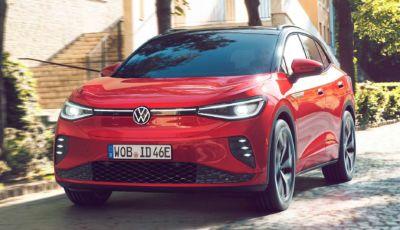 Volkswagen ID.4 GTX 2021: il SUV elettrico punta sulle performance