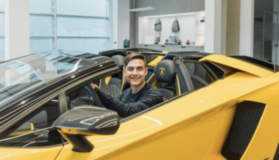 Paulo Dybala si regala una Lamborghini Aventador S Roadster