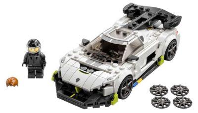 LEGO Speed Champions 2021: un super garage in miniatura!