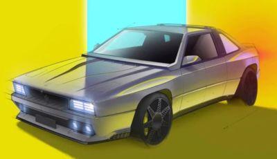 Maserati Project Rekall: la Shamal torna come restomod nostalgico