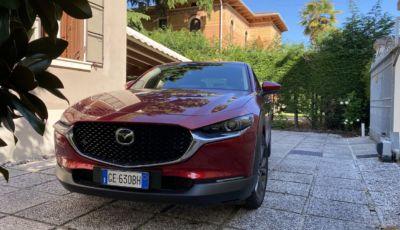 Mazda CX-30 prova su strada della Mild Hybrid da 186 CV