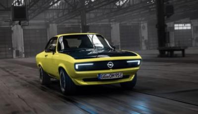 Torna la Opel Manta, ma ora è elettrica