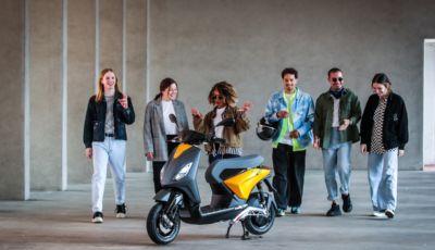 Piaggio One, il nuovo scooter elettrico italiano