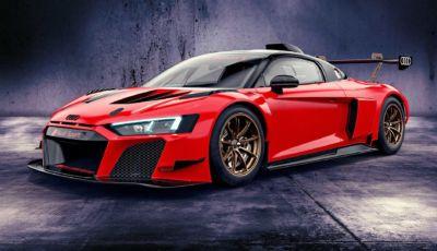"""Audi R8: sei tonalità in serie limitata per la LMS GT2 """"Color edition"""" da corsa"""