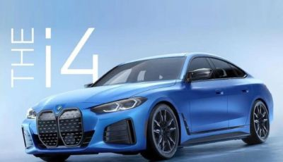 BMW i4 M50: la versione sportiva avrà 523 cavalli