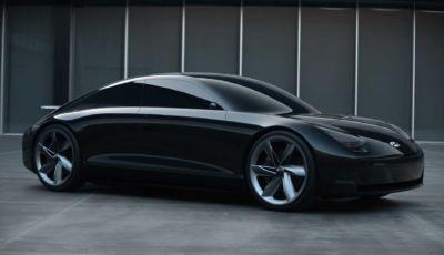 Hyundai Ioniq 6 e 7: la berlina elettrica nel 2022, il SUV nel 2024