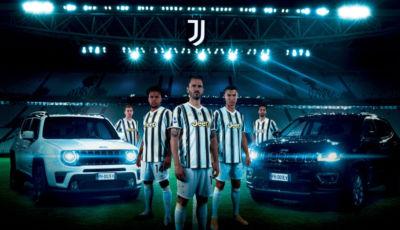 Jeep 4xe: Compass, Renegade e Wrangler sono le auto ufficiali della Juventus