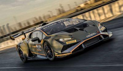 Lamborghini Huracán: il mondo delle corse accoglie la nuova Super Trofeo EVO2