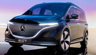 Mercedes EQT Concept: la futura Classe T sarà (anche) elettrica