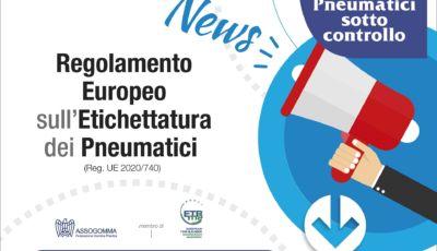Etichetta europea per i pneumatici: tutte le novità da sapere