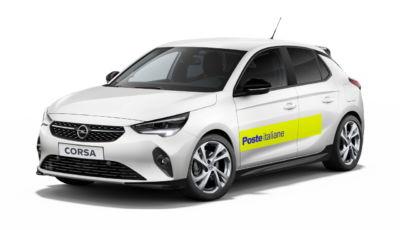 Opel Corsa-e: anche Poste Italiane sceglie l'elettrificazione tedesca