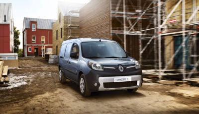 Renault Kangoo ZE: il furgoncino elettrico arriva a fine anno