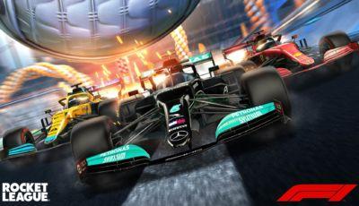 La F1 sbarca su Rocket League con il Formula 1 Fan Pack