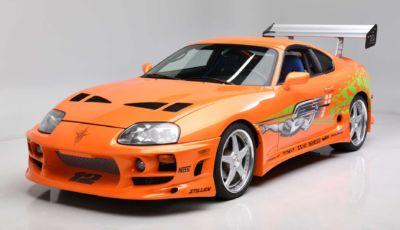 Toyota Supra: all'asta quella di Paul Walker in Fast and Furious!