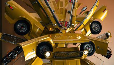 Transformers a quattro ruote: ecco il nuovo design di Ferrari, Porsche e Mustang
