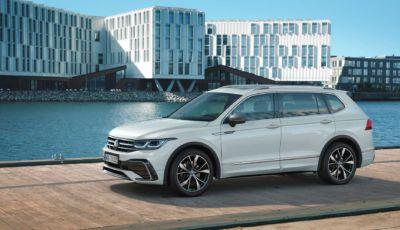 Volkswagen Tiguan Allspace 2021: il SUV a sette posti si rinnova