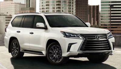 Lexus LX arriva a settembre 2021