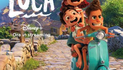 Luca, l'ultimo eroe Disney-Pixar viaggia in Vespa