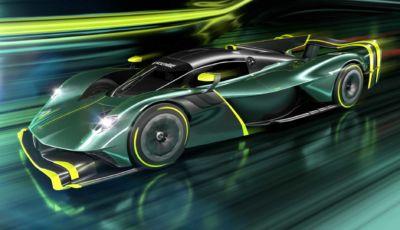 Aston Martin Valkyrie: la versione AMR Pro sfida le LMP1 di Le Mans